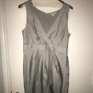 Banana Republic Grey Silk Dress size 14